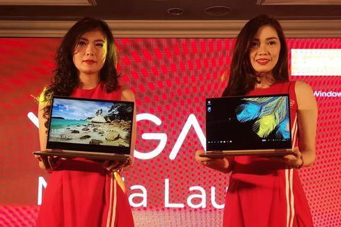 Laptop Fleksibel Lenovo Yoga 730 Dijual Rp 21 Juta