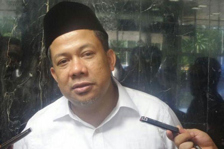 Wakil Ketua DPR RI Fahri Hamzah di Kompleks Parlemen, Senayan, Jakarta, Jumat (20/1/2017).