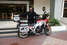 Pengendara Motor Indonesia yang Keliling Dunia Singgah di Brunei Darussalam