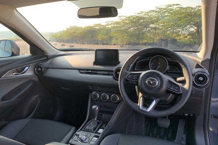 Desain interior dan dasbor Mazda CX-3