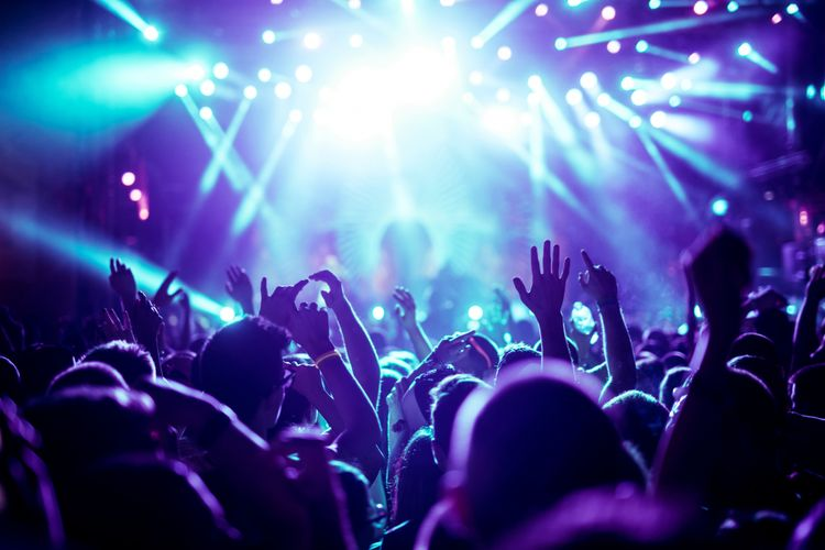 Ilustrasi nonton konser