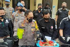 Polisi Bandung Sita 150 Kg Tembakau Sintetis dari Industri Rumahan di Bekasi