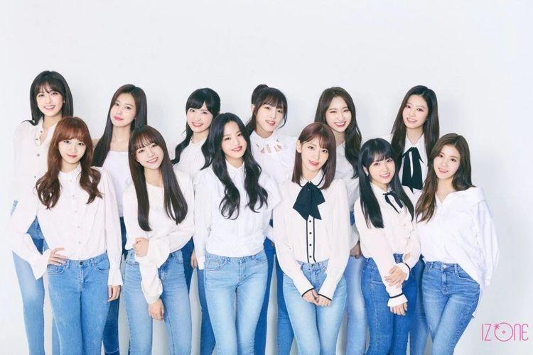 Girlband Korea Selatan, IZ*ONE.