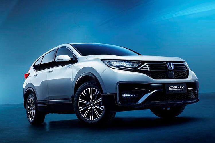 Honda CR-V PHEV meluncur di ajang Auto China 2020