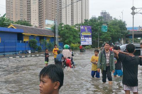 [UPDATE] Kondisi Lalu Lintas di Jakarta Utara Sore Ini, Sejumlah Titik Masih Tergenang