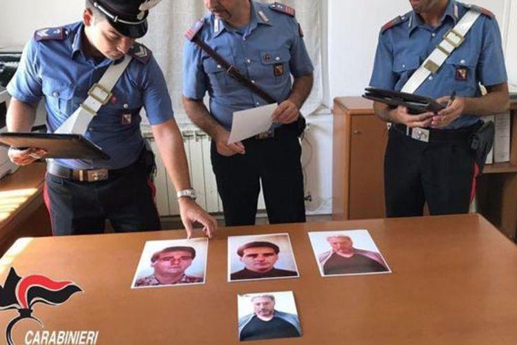 Beberapa foto samaran Rocco Morabito yang diduga digunakannya selama buron.