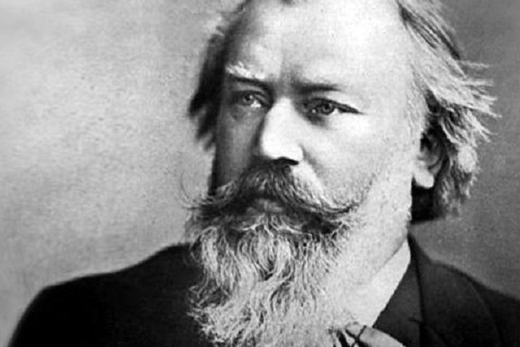 Johannes Brahms. Komposer legendaris Jerman.