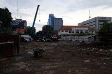 Meski Progres Baru 30 Persen, Alun-Alun Surabaya Bisa Dilewati Pejalan Kaki Saat Malam Tahun Baru