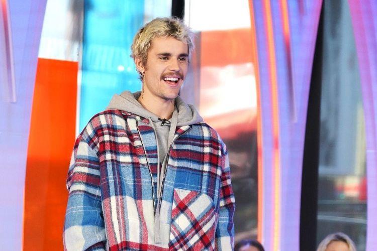 Penyanyi Justin Bieber menghadiri MTVs Fresh Out Live dan mewujudkan impian seorang penggemar di New York City pada 7 Februari 2020.