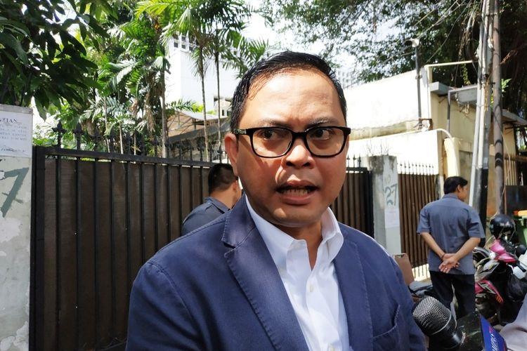 Komisioner KPU, Viryan Azis, di Kantor KPU, Menteng, Jakarta Pusat, Selasa (14/1/2020).