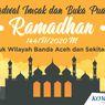 INFOGRAFIK: Jadwal Imsakiyah dan Buka Puasa di Banda Aceh Selama Ramadhan 2020