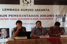 Survei LSJ: Tren Kepuasan Publik terhadap Pemerintahan Jokowi-JK Menurun