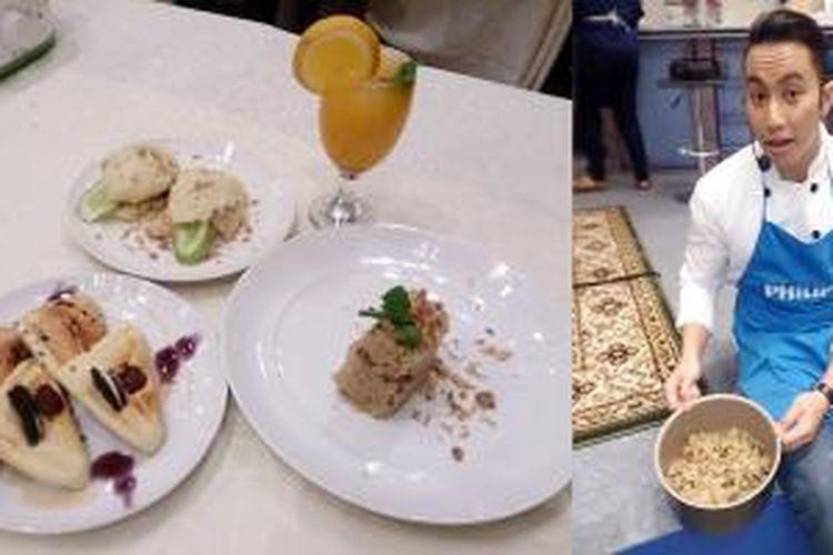 Chef Yuda Bustara saat dijumpai dalam acara kompetisi memasak yang diselenggarakan Philips Indonesia di Thamrin Nine (16/6/2015), Jakarta.