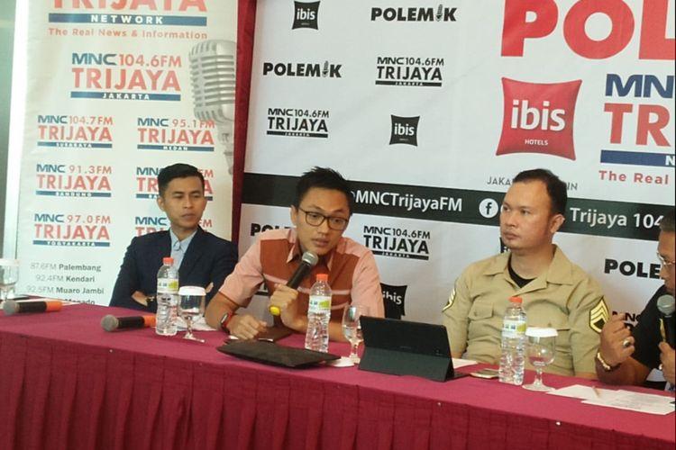 Staf Khusus Presiden Joko Widodo Aminuddin Maruf di Ibis Hotel Tamarin, Menteng, Jakarta, Sabtu (23/11/2019).