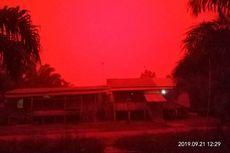 BMKG Ungkap Langit Merah di Muaro Jambi Akibat Titik Panas
