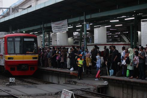 Sejumlah Jalur KRL Terganggu akibat Banjir Jakarta, Ini Perinciannya
