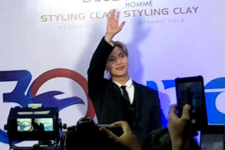 Taemin SHINee dalam acara RCTI 30 Anniversary Celebration yang digelar di Ecovention Ancol, Jakarta Utara pada Jumat (23/8/2019).