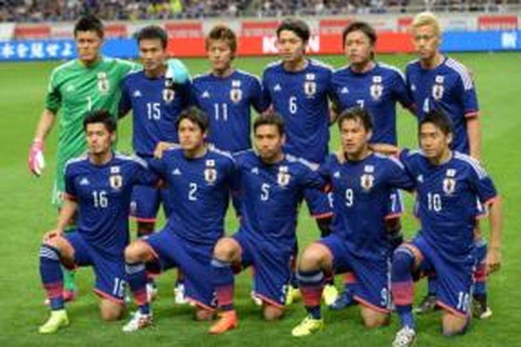 Tim nasional Jepang.