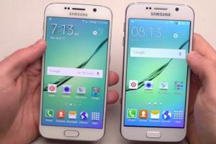 Ayo tebak, mana Galaxy S6 yang asli dan palsu?