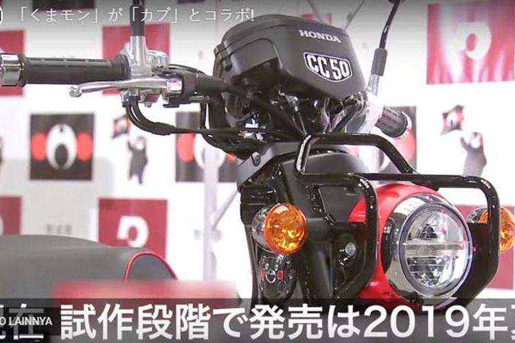 Honda Super Cub Kumamon