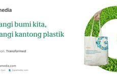 Gramedia.com Kampanyekan Diet Kantong Plastik