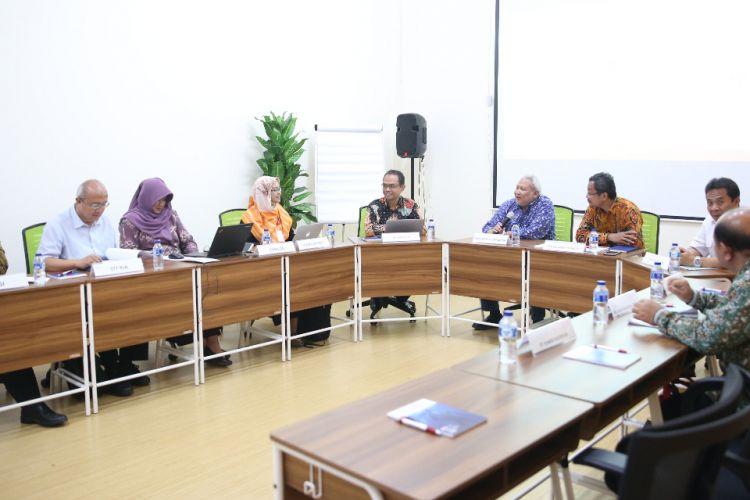 Aliansi Perguruan Tinggi Berbasis BUMN (APERTI BUMN) mengadakan Focused Group Discussion (FGD) di Kampus Universitas Pertamina (30/10/2018). Jakarta.
