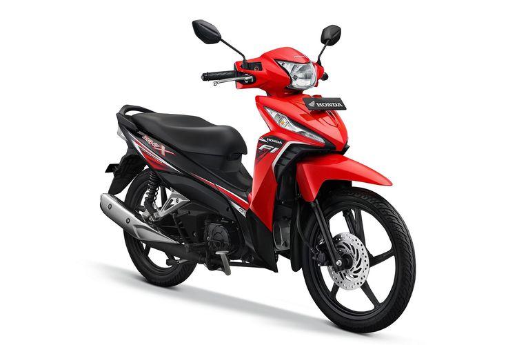 Honda Revo X dengan warna baru