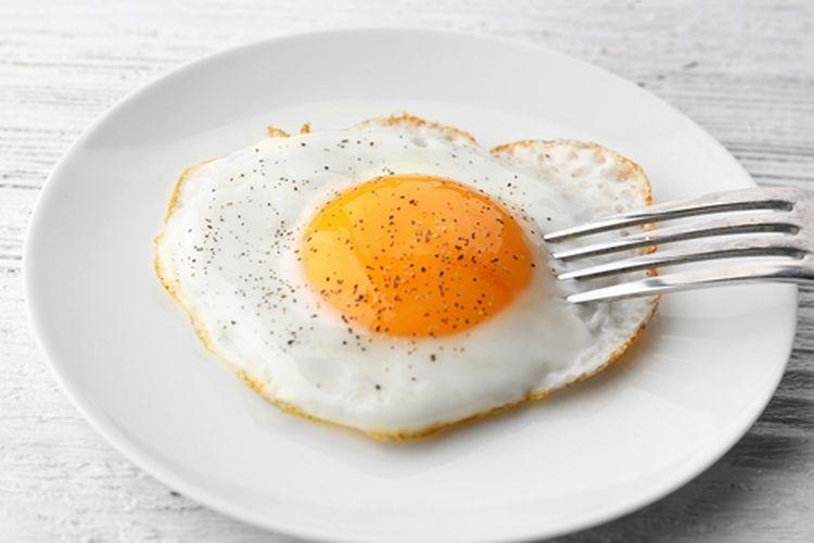 Telur ceplok atau telur mata sapi?