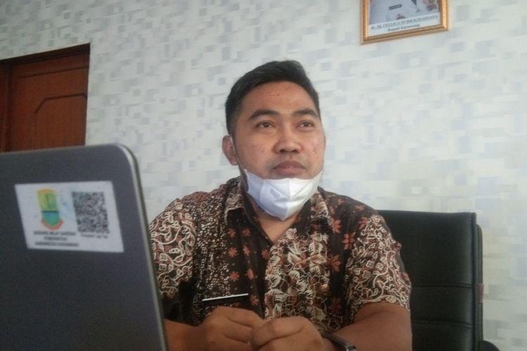 Sekretaris Badan Kepegawaian dan Pengembangan Sumber Daya Manusia (BKSDM) Karawang Jajang Jaenudin
