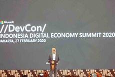 Tutup Pidato di Jakarta, CEO Microsoft Sebut Ria Miranda dan Michael Sitorus