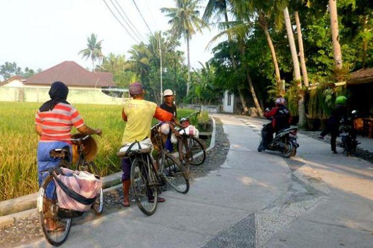 Ilustrasi desa