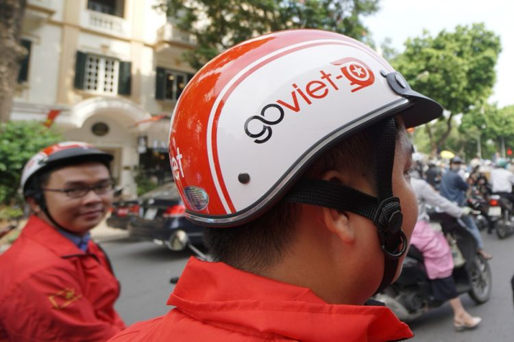 GoViet, layanan ojek online milik Go-Jek di Vietnam.