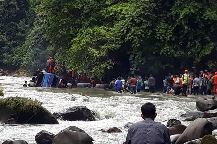 Korban Kecelakaan Bus Sriwijaya Bertambah: 26 Orang Meninggal, 14 Luka-luka