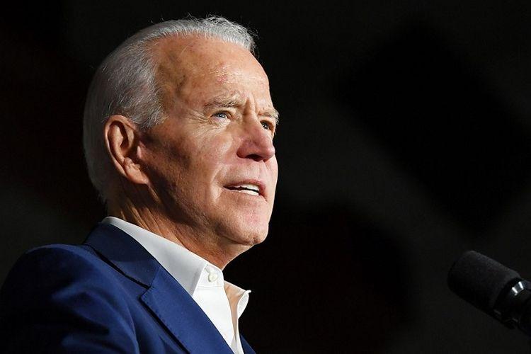 Calon Presiden Amerika Serikat (AS) Joe Biden dari Partai Demokrat.