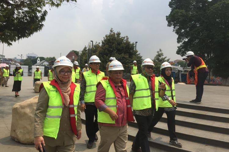 Kunjungan DPRD ke Taman Ismail Marzuki, Selasa (26/11/2019).