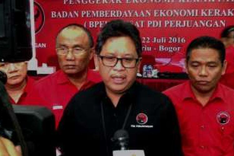 Sekjen DPP PDI Perjuangan Hasto Kristiyanto