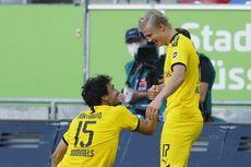 Duesseldorf vs Dortmund, Erling Haaland Kembali Catatkan Rekor