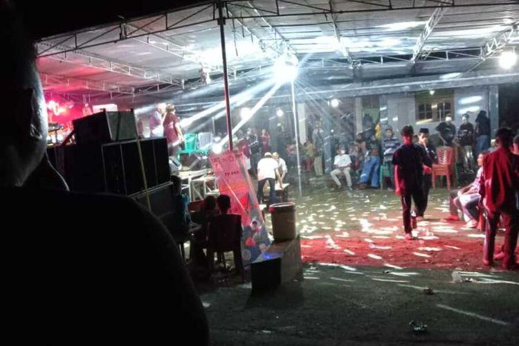 Upaya pembubaran paksa acara halalbihalal di Tanggamus.