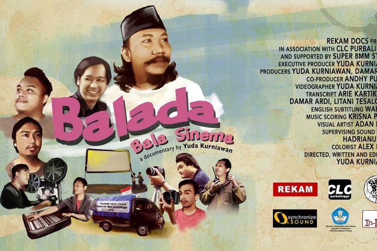 Poster film Balada Bala Sinema.