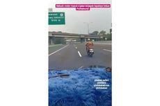 Viral Sepeda Motor Masuk Jalan Tol Jakarta-Cikampek