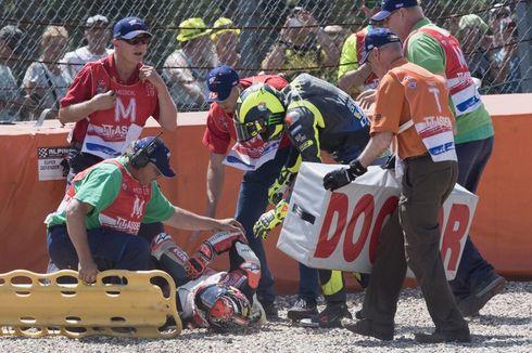 Berita MotoGP, Ditabrak Rossi, Takaaki Nakagami Absen hingga Akhir Musim