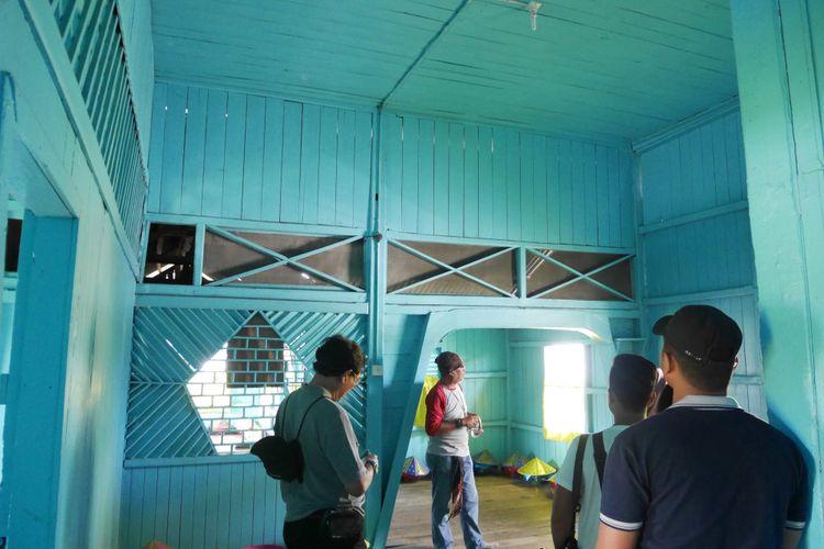 Rumah Singgah Sultan Siak di Kampung Bandar, Kecamatan Senapelan, Kota Pekanbaru, Riau, Jumat (9/3/2018).