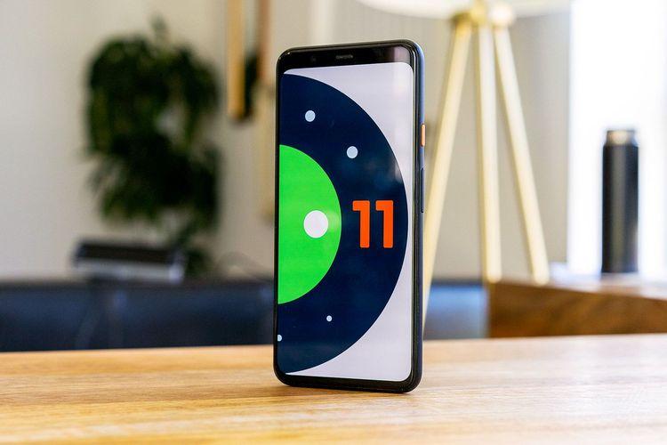 ilustrasi Android 11