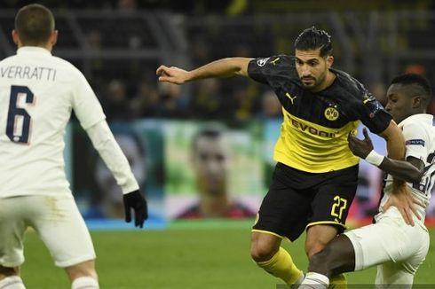Hasil Dortmund Vs PSG, Belum Ada Gol di Babak Pertama