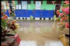 Hujan dan Air Laut Pasang, Sekolah hingga Rumah Terendam Banjir di Belitung Timur