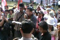 Tanah Dicaplok PTPN Jambi, Warga Demo BPN