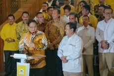 Prabowo Bertemu Airlangga, Golkar-Gerindra Sepakati Kerja Sama Jaga Stabilitas di Parlemen