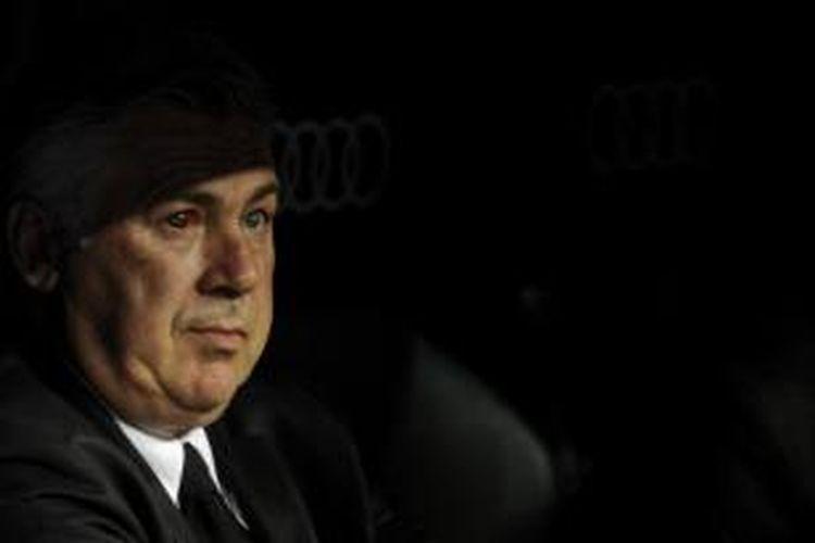 Pelatih Real Madrid, Carlo Ancelotti.