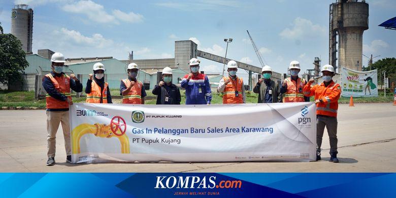 PGAS Bantu Pulihkan Ekonomi, PGN Salurkan Gas ke PT Pupuk Kujang Cikampek