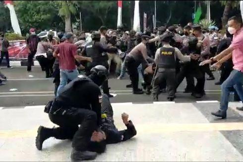 PB HMI Minta Polisi yang Banting Peserta Demo di Tigaraksa Ditindak Tegas